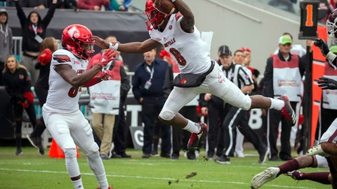 Louisville QB Lamar Jackson will enter the 2018 NFL Draft