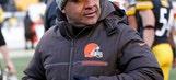 Browns coach Jackson overhauls staff after winless season