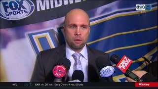 Yeo after Blues lose to Capitals: 'I thought we did a lot of good things'