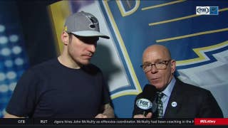 Steen on Dunn's game-winner: 'This is a night he'll remember for sure'
