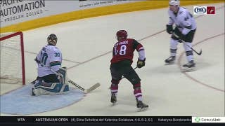 HIGHLIGHTS: Fourth line sparks Coyotes' rally