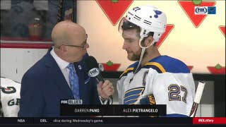 Pietrangelo on scoring on his birthday: 'I guess there's some good luck'