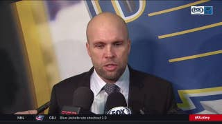 Yeo on Blues winning back-to-back road games: 'This was a good road trip for us'