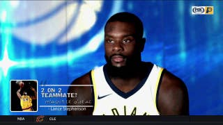 Pacers pick their 2-on-2 teammates