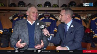 Brett Hull reflects on the life of former Blues chairman Mike Shanahan