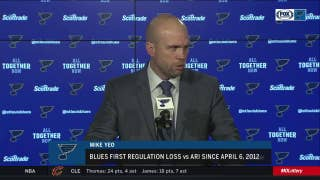 Mike Yeo after Blues' loss: 'When you're not ready to work, obviously that's the result'