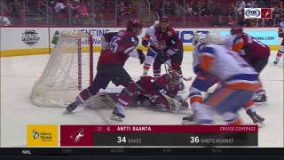 Antti Raanta comes up big with 34 saves for Coyotes