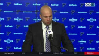 Yeo gives to for Blues bouncing back against Sens: 'I know how much this group cares'