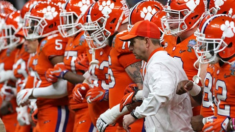 Alabama & Clemson share coaching & college football playoff history