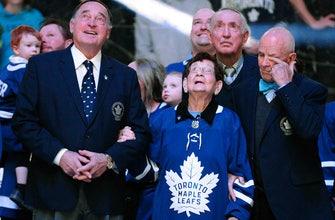 Hockey royalty pays tribute to Johnny Bower