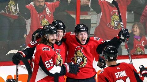 Senators to take their best shot versus Sharks