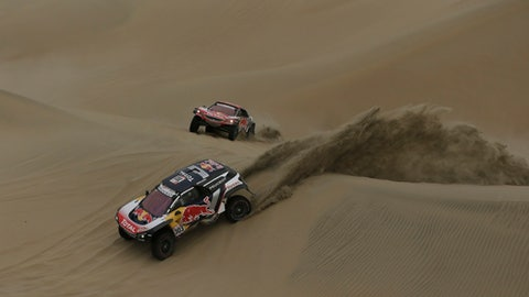 Take a look at the Dakar 2018 route