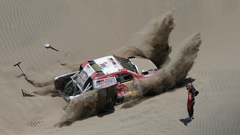 Andre Villas-Boas Taken To Hospital After Crash During Dakar Rally