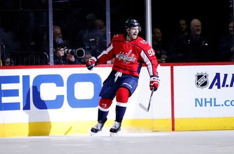 Capitals beat Canucks 3-1 for 5th straight win