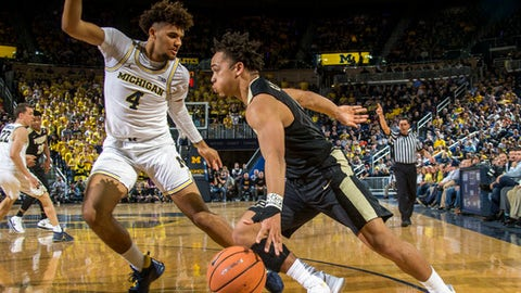 Big week for surging Michigan, Purdue