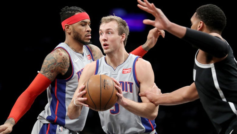 Drummond's double-double leads Pistons past Nets 114-80