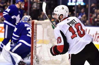 Tom Pyatt breaks late tie, Senators beat Maple Leads 4-3 (Jan 10, 2018)