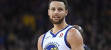 Warriors' Stephen Curry out against Bucks with sore ankle