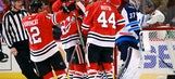 Blackhawks beat Jets behind Kampf's first goal