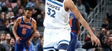Towns' near triple-double pushes Wolves past Knicks, 118-108
