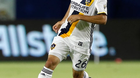 FILE - In this Oct. 26, 2016, file photo, Los Angeles Galaxy forward Landon Donovan controls the ball during the second half of a knockout-round MLS playoff soccer match against Real Salt Lake in Carson, Calif. Donovan is coming out of retirement for the second time in three years, this time to join Club Leon in Mexico. The Liga MX team announced Donovan's return to soccer on Twitter on Friday night, Jan. 12, 2018. Donovan also tweeted about joining Club Leon, saying he was excited to face former U.S. teammate and current C.F. Pachuca player Omar Gonzalez next month. (AP Photo/Alex Gallardo, File)