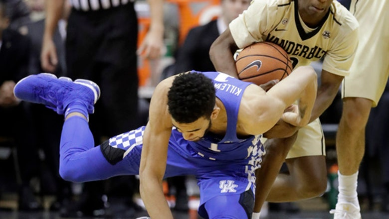No. 21 Kentucky Wildcats win 2nd straight, beats Vandy 74-67
