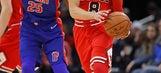 Bulls top Pistons 107-105 in Zach LaVine's return
