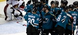 Donskoi ties it with 15.4 seconds left, Sharks win in OT