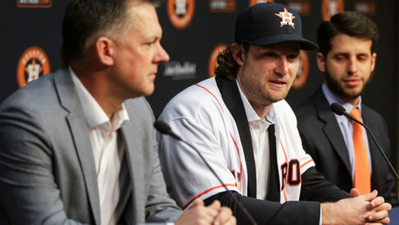 Cole excited to join Verlander, Keuchel on Astros staff