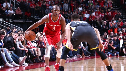 After Houston's Win, Here's Hoping for a Warriors-Rockets Playoff Series