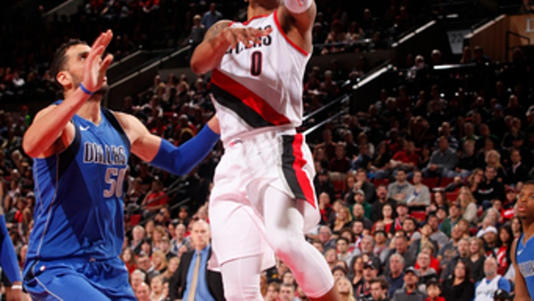 Sharp-shooting Lillard gets 31 points, Blazers beat Mavs