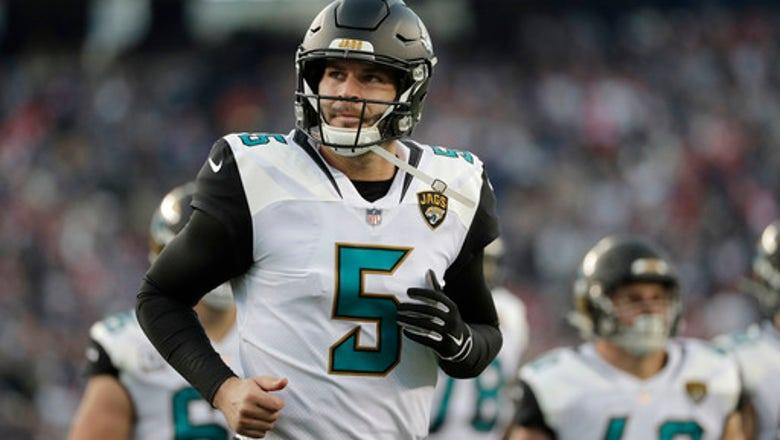 Jaguars QB Blake Bortles recovering from wrist surgery