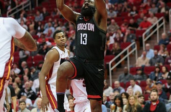 Harden's 28 help Rockets rally for 99-90 win over Heat (Jan 22, 2018)