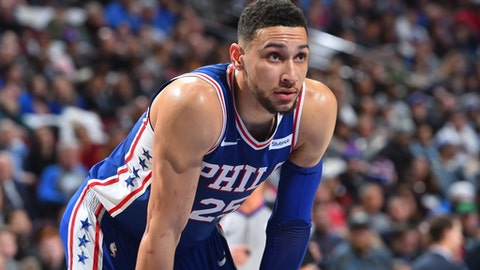 Sixers' Ben Simmons gets triple-double in 115-101 win against Bulls