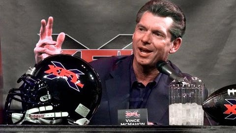 Could WWE chairman Vince McMahon's XFL rival the NFL?