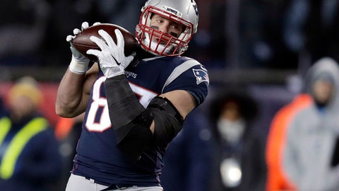 Will Rob Gronkowski play in the Patriots Eagles Super Bowl?