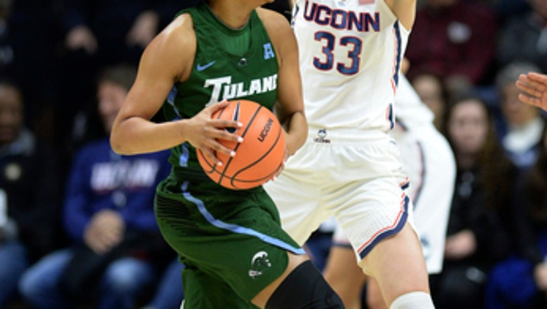 No. 1 UConn routs Tulane, opens season 20-0 for 11th time