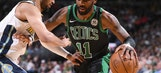 Irving scores 27 points as Celtics edge Nuggets 111-110