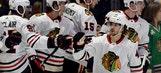 Forsberg, Hinostroza lead Blackhawks past Predators 2-1