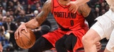 Griffin gone, Clippers lose to Trail Blazers 104-96
