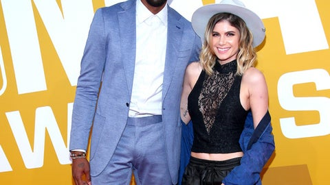 NEW YORK, NY - JUNE 26:  Rasual Butler (L) and Leah LaBelle attend the 2017 NBA Awards at Basketball City - Pier 36 - South Street on June 26, 2017 in New York City.  (Photo by Paul Zimmerman/WireImage)