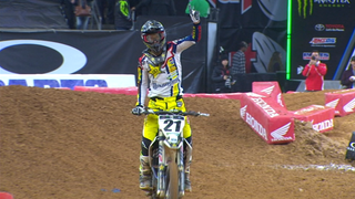 Jason Anderson passes Ken Roczen to win Houston 450 main | 2018 MONSTER ENERGY SUPERCROSS