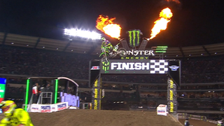 Eli Tomac claims the first-ever 450 Triple Crown | 2018 MONSTER ENERGY SUPERCROSS