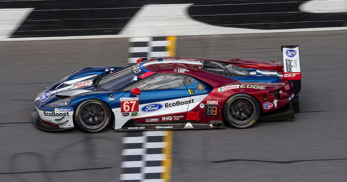 Ford Lamborghini Take Gtlm Gtd Class Wins At The  At Daytona Fox Sports