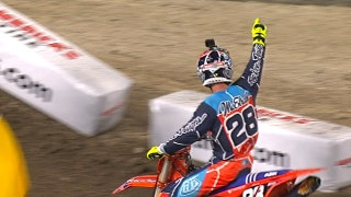 Shane McElrath wins 250 main at Anaheim 1 | 2018 MONSTER ENERGY SUPERCROSS