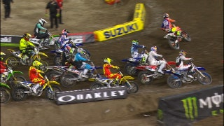 Jeff Emig & Ralph Sheheen break down all the action from Anaheim 1 | 2018 MONSTER ENERGY SUPERCROSS