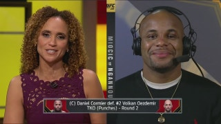 Daniel Cormier post-fight interview | POST-FIGHT | UFC 220