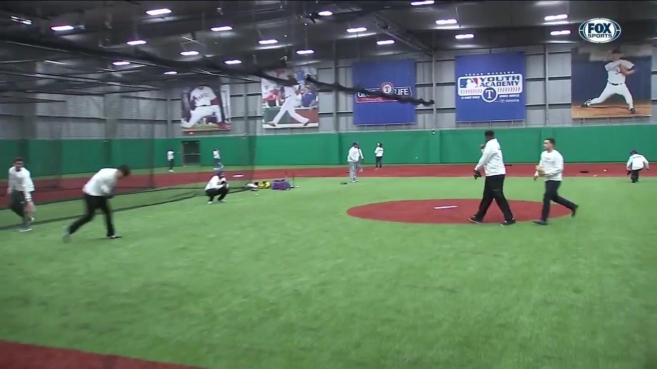 new product 05acc ec4fe Texas Rangers Youth Academy   Rangers Insider