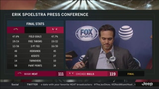 Erik Spoelstra on Tyler Johnson's injury, loss to Bulls