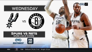 San Antonio Spurs vs. Brooklyn Nets preview | Spurs Live